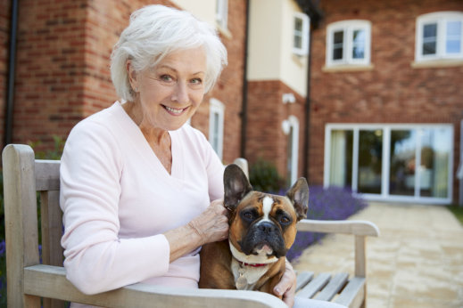 How Can Owning a Pet Benefit the Elderly?
