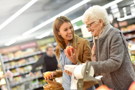 Grocery Shopping for Your Senior Loved Ones